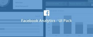 Facebook Analytics UI Pack